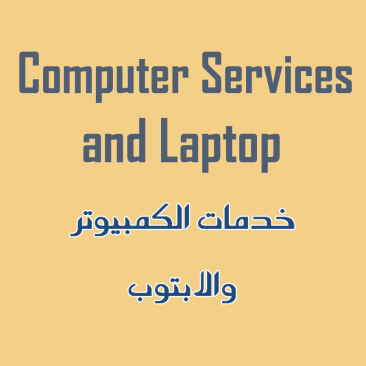 Computer Services and Laptop
